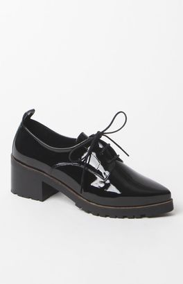 Sixty Seven Patent Leather Oxford Shoes $135 thestylecure.com