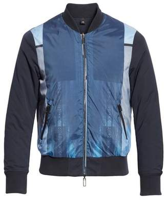 Emporio Armani Colorblock Reversible Classic Fit Jacket