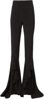 Cushnie et Ochs Ula High Waist Ruffle Pants