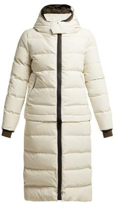 Templa - Verba Quilted Down Filled Coat - Womens - Grey
