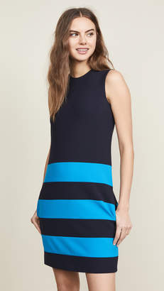 Victoria Victoria Beckham Striped Shift Dress