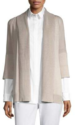 Lafayette 148 New York Elbow-Sleeve Cardigan