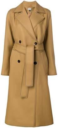 Jil Sander double breasted coat