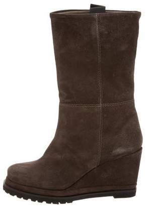 Chuckies New York Platform Wedge Boots w/ Tags