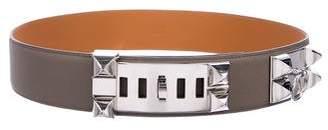Hermes Reversible Collier de Chien Belt