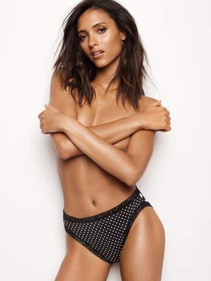 Victoria's Secret Victorias Secret Lace-trim High-leg Brief Panty