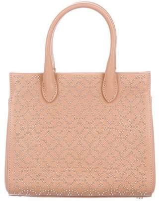 Alaia Arabesque Studded Leather Satchel w/ Tags