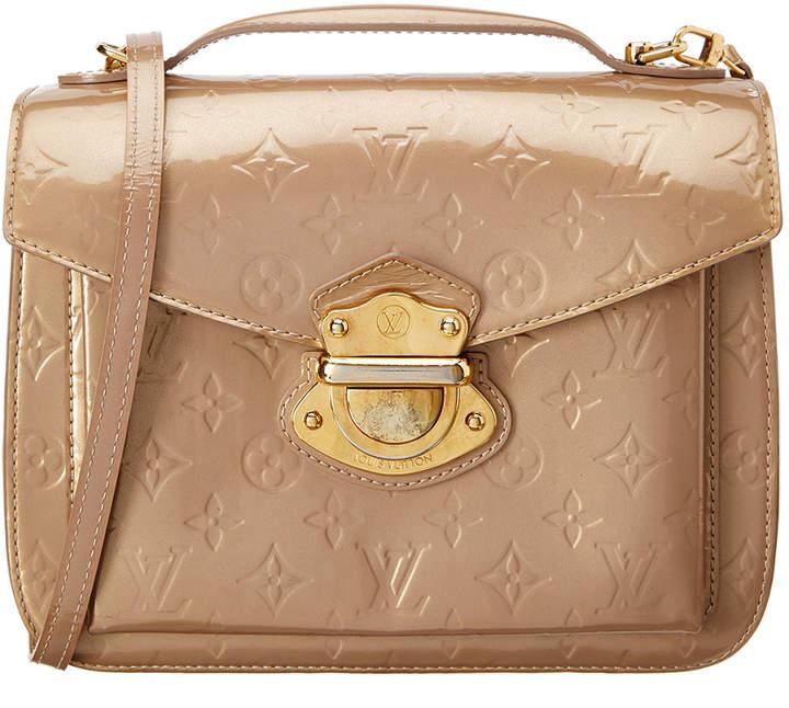 Louis Vuitton Beige Poudre Monogram Vernis Leather Miranda