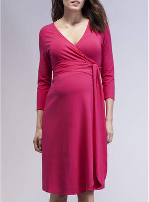 Isabella Oliver Wrap Maternity Dress