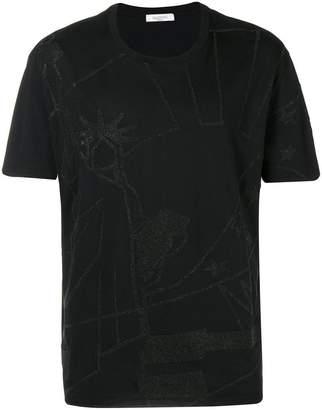 Valentino glitter print T-shirt