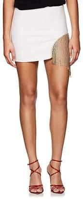 Area Women's Eileen Crystal-Embellished Miniskirt
