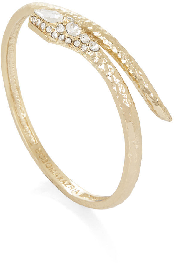 BCBGMAXAZRIA Pave Snake Bangle