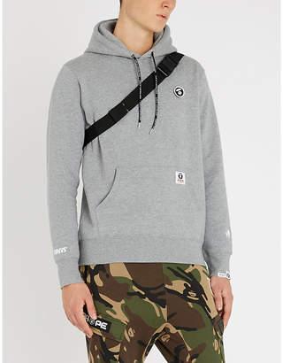Aape Ape-logo cotton-jersey hoody