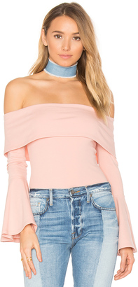 House of Harlow x REVOLVE Abby Bodysuit $130 thestylecure.com