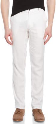 Ganesh Regular Fit Linen Pants