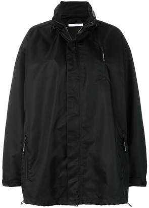 Givenchy oversized logo embroidered windbreaker jacket