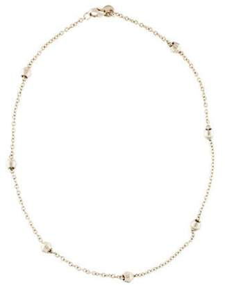 Tiffany & Co. Bead Station Necklace silver Bead Station Necklace