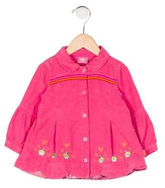 Oilily Girls' Embroidered Top