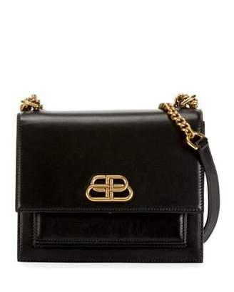 5757a89b5a Balenciaga Sharp Small Shoulder Bag with Chain