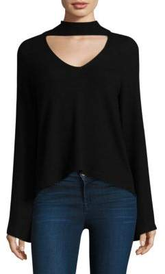 Feel The Piece Audra Choker-Neck Top