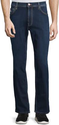 Stefano Ricci Five-Pocket Straight-Leg Denim Jeans, Blue