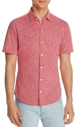 HUGO BOSS Robb Short-Sleeve Floral-Print Regular Fit Shirt