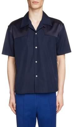 MM6 MAISON MARGIELA Short Sleeve Camp Shirt