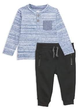 Sovereign Code Boys' Matias + Larned Henley & Sweatpants Set - Baby