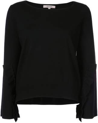 Schumacher Dorothee ruffle detail sweater
