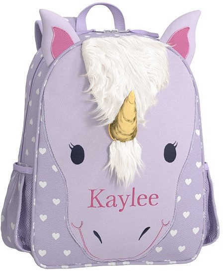 Small Backpack, Mackenzie Classic Critter Unicorn