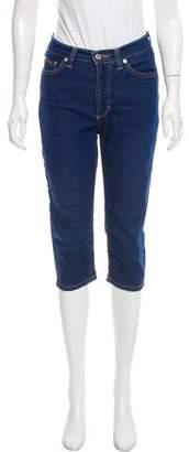 Dolce & Gabbana Mid-Rise Straight-Leg Jeans