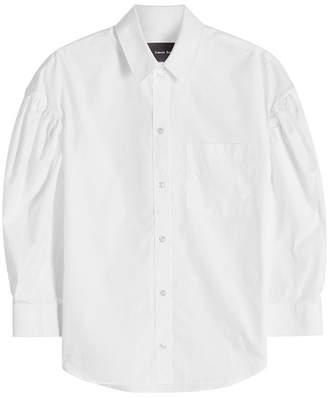 Simone Rocha Dropped Sleeve Cotton Shirt