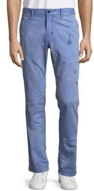 PRPS Kindness Partially Distressed Cotton Jeans