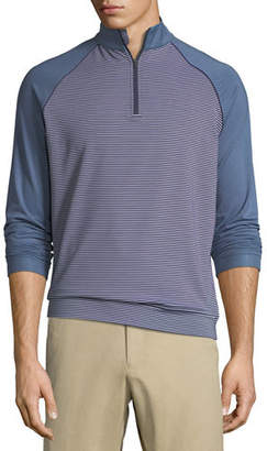 Peter Millar Perth Raglan-Sleeve Striped Pullover