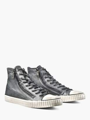 John Varvatos Double Zip Mid Top