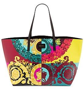 0399d9c0 Women's Borsa Vitello St. Barocco Leather Tote Bag