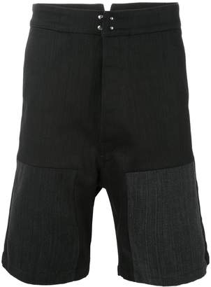 Raf Simons denim Workwear shorts