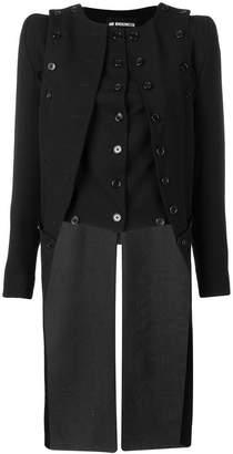 Ann Demeulemeester double buttoned waistcoat