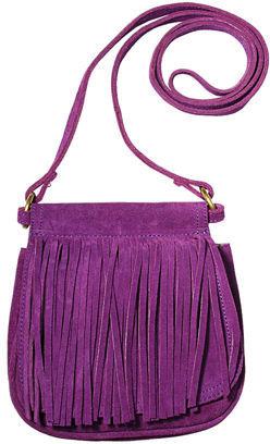 Bsally Purple Suede