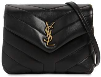 Saint Laurent Toy Loulou Monogram Leather Shoulder Bag