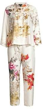 Natori Nikko Floral Two-Piece Pajama Set