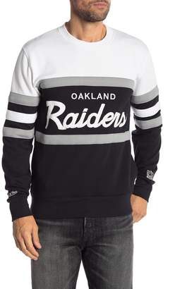 Mitchell & Ness Oakland Raiders Head Coach Crew Neck Sweater