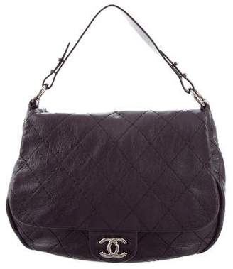 Chanel Quilted Leather Hobo