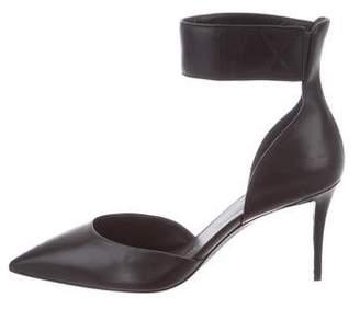 Giuseppe Zanotti Pointed-Toe Ankle Strap Pumps