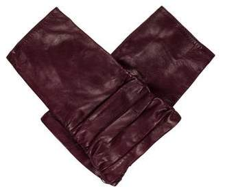 Portolano Leather Fingerless Gloves w/ Tags