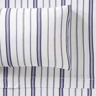 Pottery Barn Teen Hana Stripe Jersey, Extra Pillowcases, Set of 2, Purple