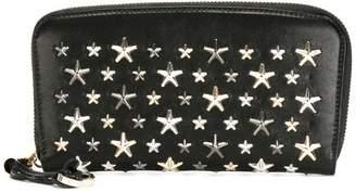 Jimmy Choo star embellished wallet