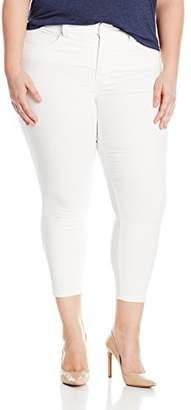 Melissa McCarthy Women's Plus Size Pencil Cut Colored Jean