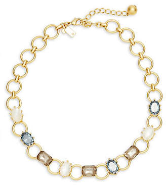 Kate Spade Blooming Bling Stone Collar Necklace
