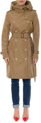 Burberry Kensigton Camel Color Trench Coat